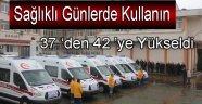 En Yaşlı İl Sinop'a Ambulans Takviyesi