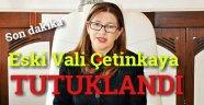 Eski Sinop Valisi TUTUKLANDI