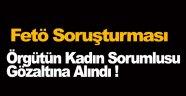 Fetö'nün Sinop Kadın Sorumlusu Gözaltına Alındı !