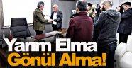 Gazetecilerden Başkan Akbaş'a teşekkür plaketi