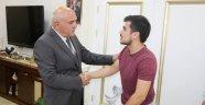Gazi Ergüner'den Vali İpek'e Ziyaret