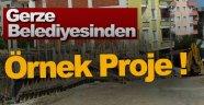 Gerze'de trafik çocuk eğitim parkı kuruluyor