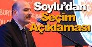 """İçişleri Bakanı Süleyman Soylu: """"Görevimiz hür oyun sandığa gidebilmesini temin edebilmektir"""""""