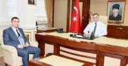 İl Başkanı Giresun'dan Vali Şakalar'a Ziyaret