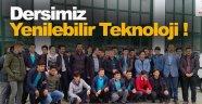 İmam Hatip Öğrencilerine Yenilebilir Teknoloji Dersi !