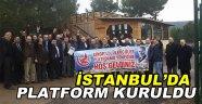 İSTANBUL  SİNOP'LU ÜLKÜCÜLER PLATFORMU KURULDU