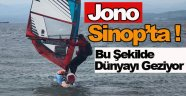 Jono Sinop'a Ulaştı !