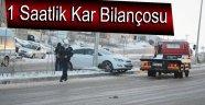 Kar Beraberinde Kazaları da Getirdi