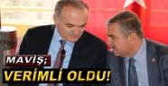 """Maviş, Bakan Özlü'nün Ziyaretini Değerlendirdi; """"Sinop Sanayisine İvme Kazandıracak Yatırımlar Hayata Geçiyor"""""""