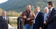Milletvekili Maviş, Ayancık'ta incelemede bulundu