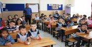 Minik öğrencilerde okul heyecanı