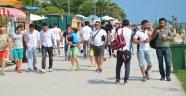"""Mutlu şehir"" Sinop'ta turizm mutluluğu"