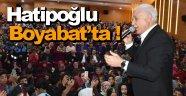 Nihat Hatipoğlu Boyabat'ta konferans verdi
