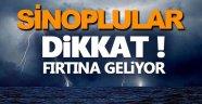 Orta Karadeniz'de fırtına uyarısı
