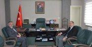 Rektör Dalgın'dan İl Müftüsü Erkan'a ziyaret