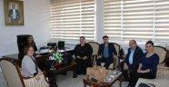 SAMSUN SİNOP'LULAR DERNEĞİNDEN VALİ ÇETİNKAYA'YA ZİYARET