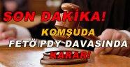 Samsun'daki FETÖ/PDY davasında karar
