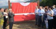 Şehit üniversite öğrenci adına hatıra ormanı oluşturuldu