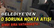 Sinop Belediyesinden O soruna Nokta Atışı!
