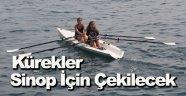 Sinop deniz küreği sporunda iddialı
