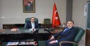 Sinop İl Halk Kütüphanesi Müdüründen İl Müftü  V.İzci'ye Ziyaret