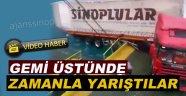 Sinop'lu Tır Şoförünün Zor anları