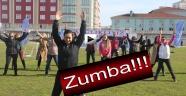 Sinop Stadında Latin Dansı
