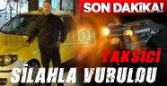 Sinop'ta bir taksici silahla vuruldu.