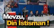 Sinop'ta Din İstismarı İle Mücadele Semineri Yapıldı