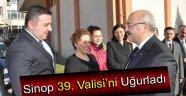 SİNOP'UN 39. VALİSİ DÜZENLENEN TÖRENLE UĞURLANDI