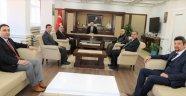 Sinop Üniversitesi Vakfından Vali Hasan İPEK'e Ziyaret