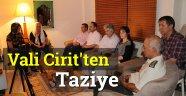 Sinop Valisinden Gazi Yakınlarına Taziye Ziyareti