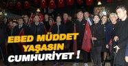 Sinop 'Yaşasın Cumhuriyet' Dedi
