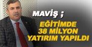 Sinop'a 38,3 milyon liralık eğitim yatırımı