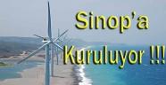 Sinop'a Rüzgar Santrali Kuruluyor
