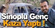 Sinoplu Genç Kaza Yaptı, 5 Yaralı !