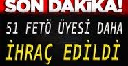 Sinop'ta 51 Kişi Daha İhraç Edildi!