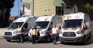 Sinop'ta ambulans sayısı arttı