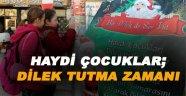 """Sinop'ta """"Bir Dilekte Sen Tut"""" projesi"""