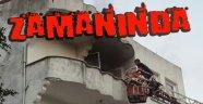 Sinop'ta Çıkan Yangına Zamanında Müdahale