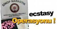 Sinop'ta Ecstasy operasyonu