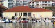 Sinop'ta eski buzhane binasının restorasyon çalışmaları