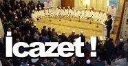 Sinop'ta icazet töreni düzenlendi