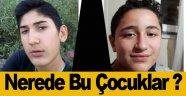 Sinop'ta iki çocuktan haber alınamıyor