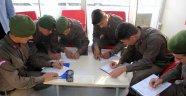 Sinop'ta jandarmadan kan bağışı