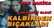 Sinop'ta Korkunç Olay, Eş Kavgası Kanlı Bitti!