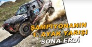Sinop'ta Off Road yarışları sona erdi