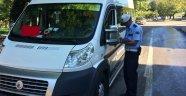 Sinop'ta okul ve yurt çevrelerinde polis uygulaması yapıldı