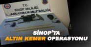 Sinop'ta sahte altın operasyonu