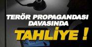 Sinop'ta sosyal medyadan terör propagandası davasında tahliye !